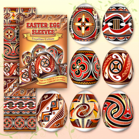 Egg Sleeves - Ancient (Trypillian) Designs