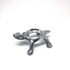 Egg Stand - Turtle (Silver)