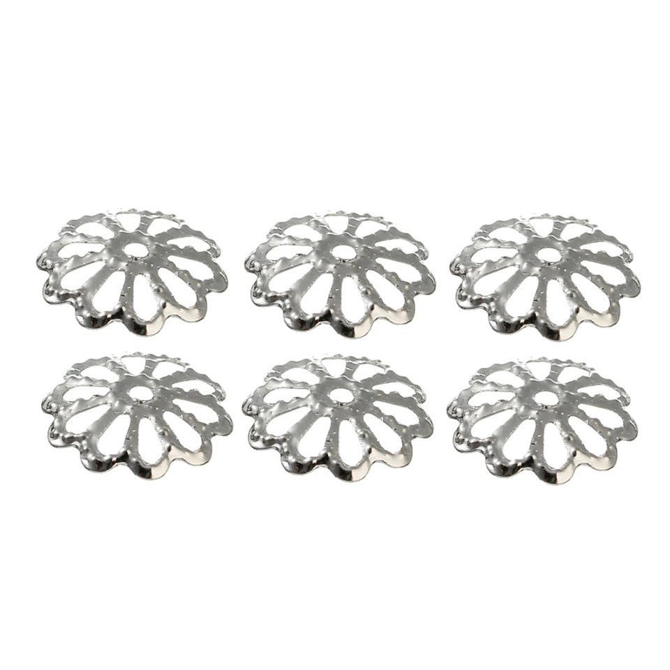 ZINIA Egg Finding - (Silver, Gold, Bronze, Rhodium) - 8mm - 10 pieces