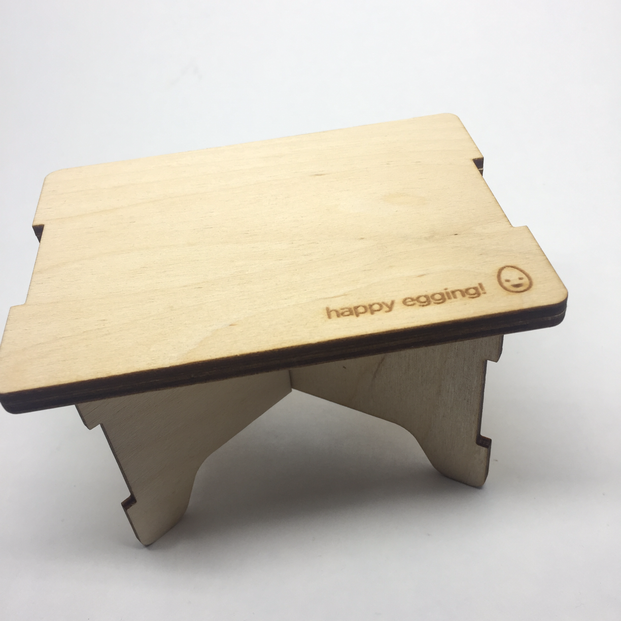 Happy Egging Self-Storing Lathe Table