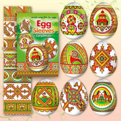 Egg Sleeves - Carpathian Designs (Church)