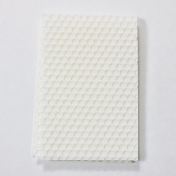 Cloud White Beeswax Sheets - 22g