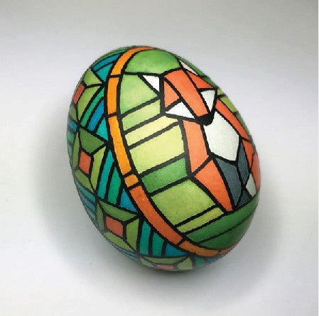 #19 - Demo 2: Jennifer E Kwong - Stained Glass Technique - Friday June 12, 6:30pm-7:30pm