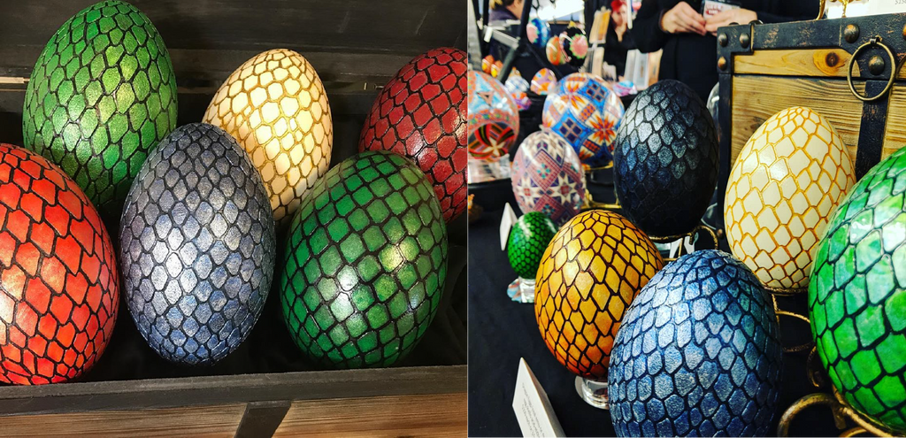 #9 - Demo 1: Erin Nelson - Making a  Real Dragon Egg - Friday June 12, 11:00am-12:00pm