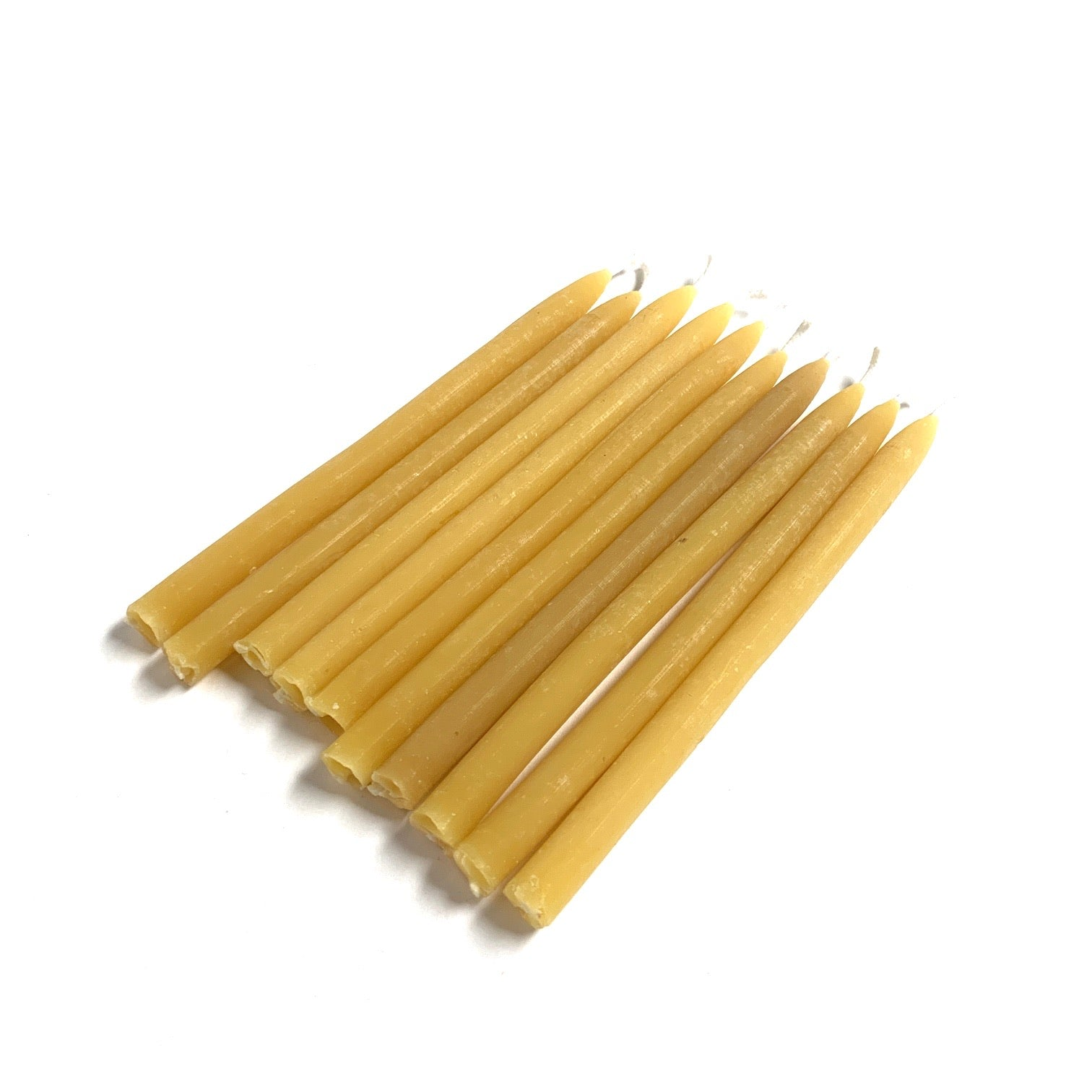 "Candle Sticks - 5"" Mini Taper Beeswax Candles - 10pcs"