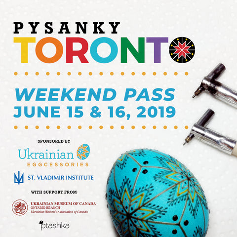 Pysanky Toronto - weekend registration