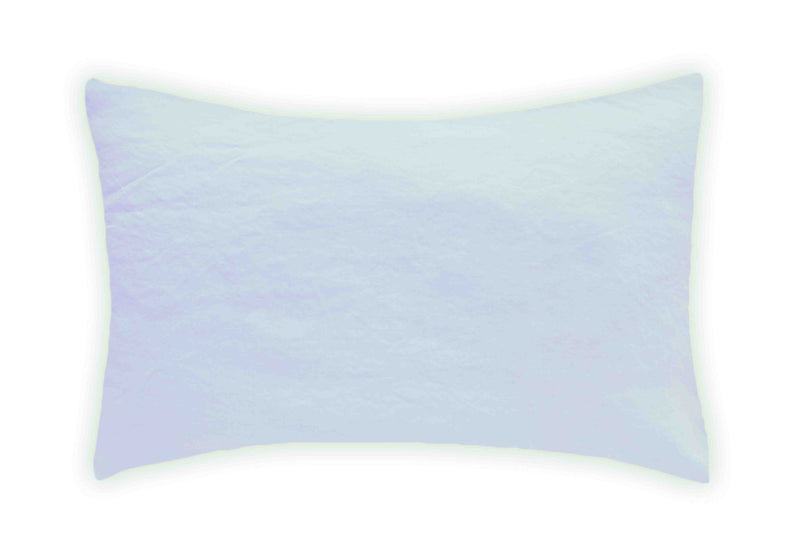 Linen Pillowcase - Ice Blue