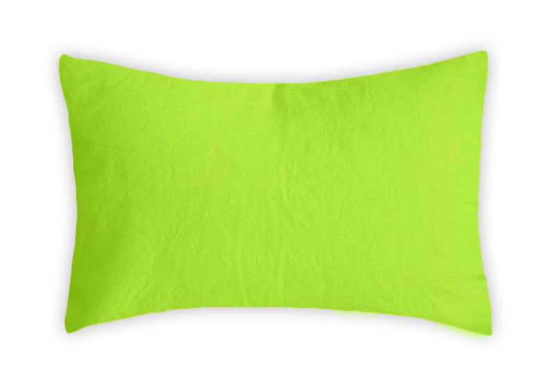 Linen Pillowcase - Lime Squeeze
