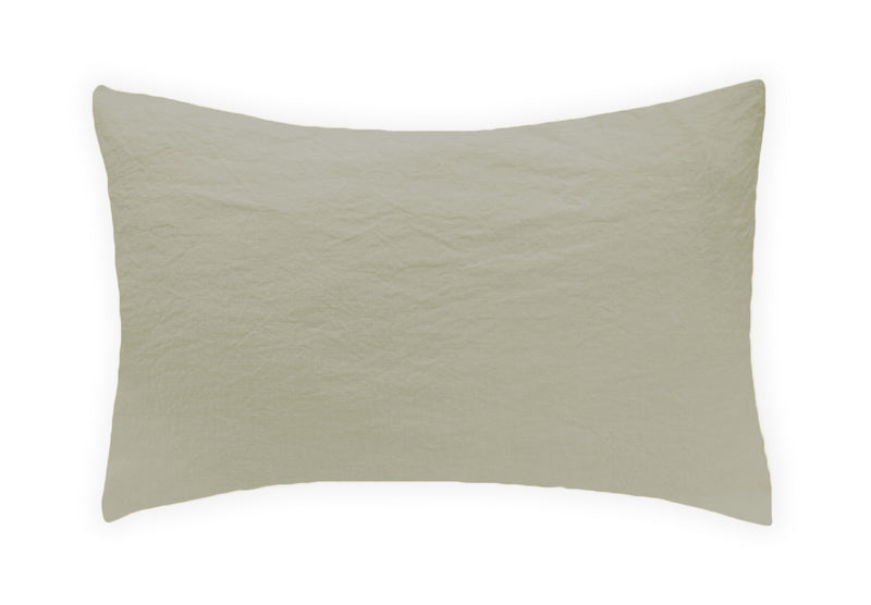 Linen Pillowcase - Smoke Grey