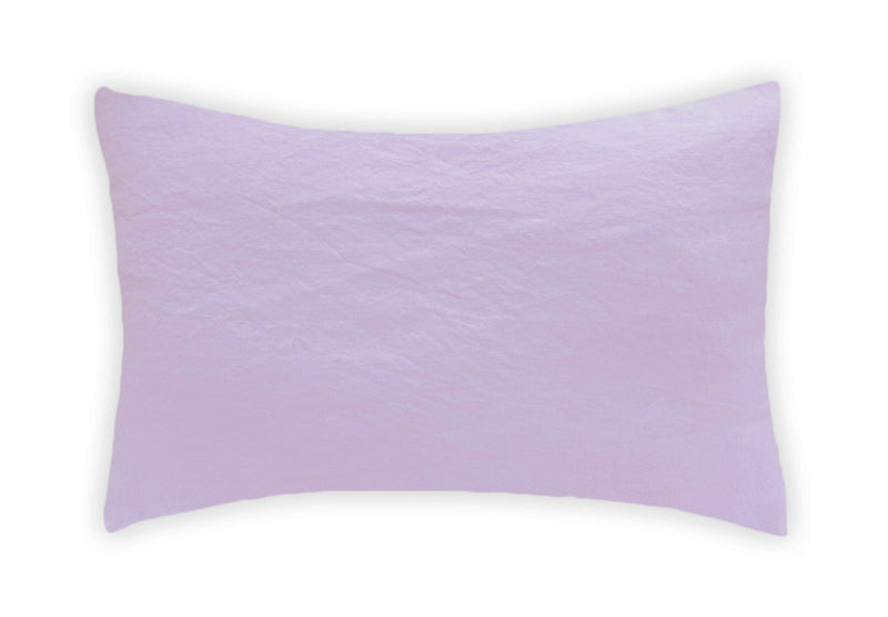 Linen Pillowcase - Lilac