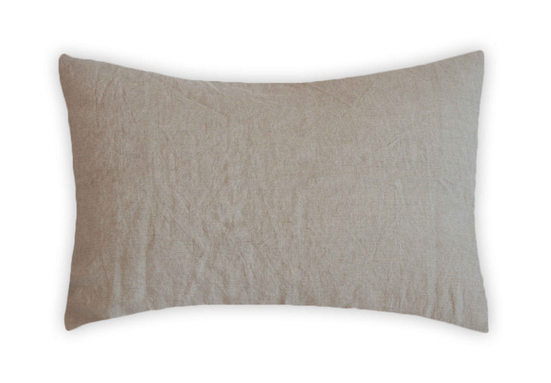 Linen Pillowcase - Natural Weave