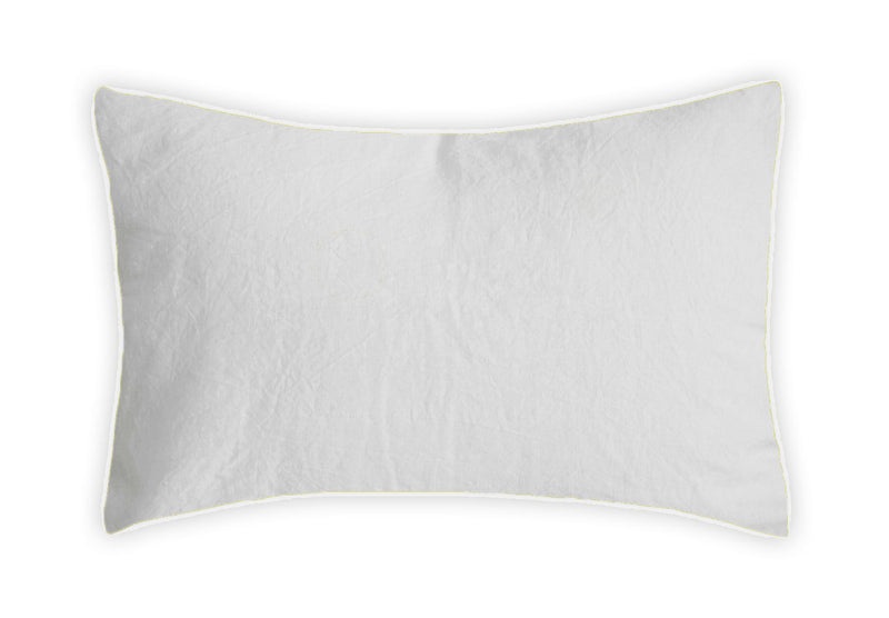 Linen Pillowcase - White