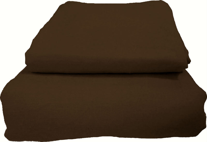 Pure Linen Quilt Cover Set - Brazil Nut