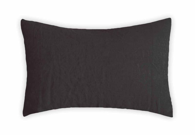 Linen Pillowcase - Charcoal