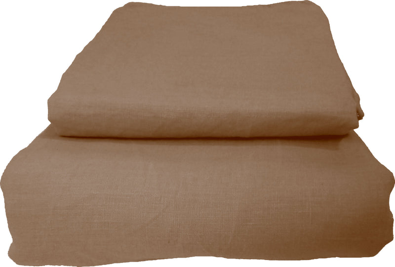 Pure Linen Quilt Cover Set - Dusk