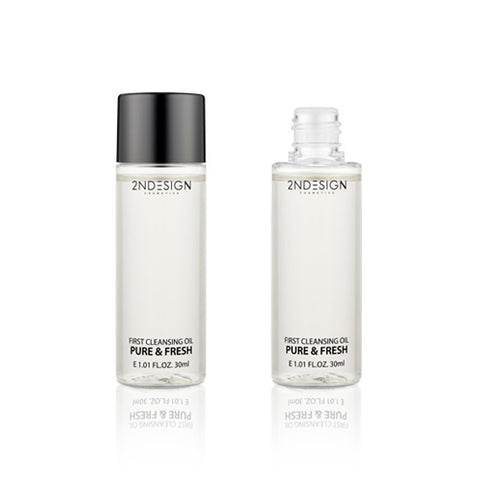 2NDESIGN  First Cleansing Oil Pure & Fresh Mini - 30ml
