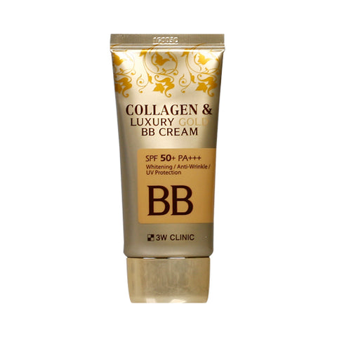 3W CLINIC  Collagen & Luxury Gold BB Cream - 50ml (SPF50+ PA+++)