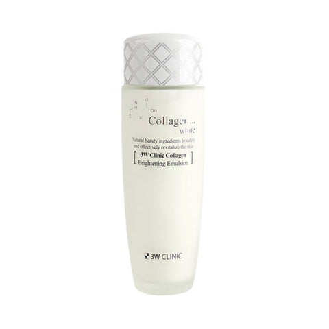 3W CLINIC  Collagen White Brightening Emulsion - 150ml