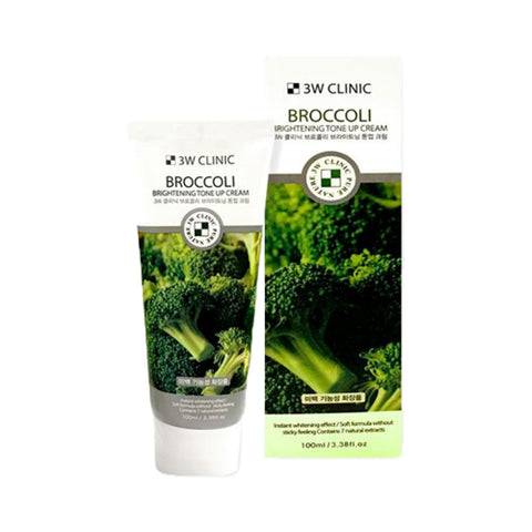 3W CLINIC  Broccoli Brightening Tone Up Cream - 100ml