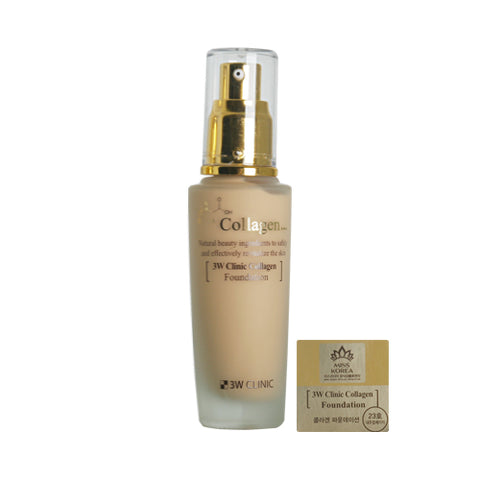 3W CLINIC / Collagen Foundation - 50ml