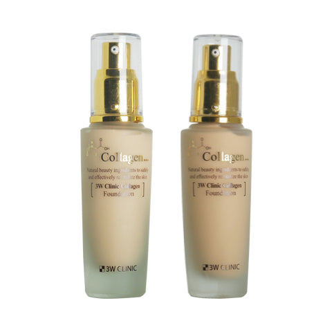 3W CLINIC  Collagen Foundation - 50ml