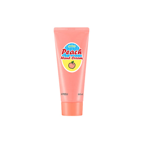 A'PIEU  Peach Hand Cream - 60ml