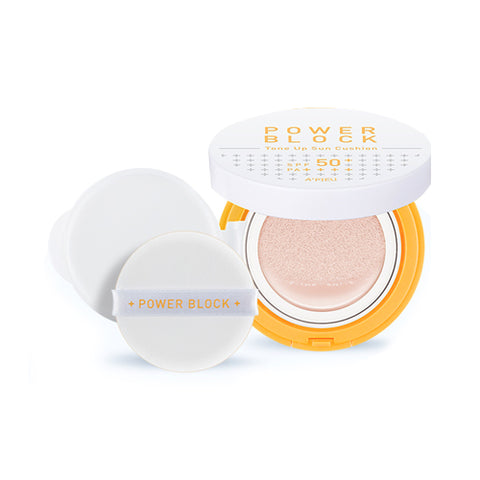 A'PIEU  Power Block Tone Up Sun Cushion - 14g (SPF50+ PA++++)