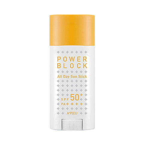 A'PIEU  Power Block All Day Sun Stick - 15g (SPF50+ PA++++)