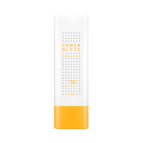 A'PIEU Power Block Daily Sun Cream - 50ml (SPF50+ PA++++)