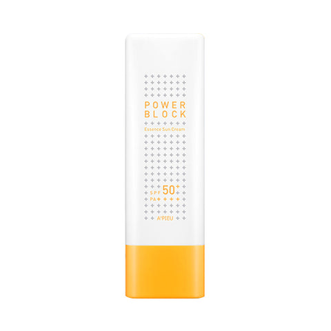 A'PIEU  Power Block Essence Sun Cream - 50ml (SPF50+ PA++++)