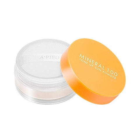 A'PIEU  Mineral 100 Tone Up Sun Powder - 6g (SPF50+ PA+++)