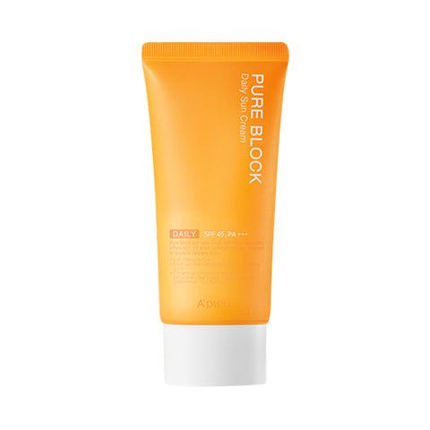 A'PIEU  Pure Block Daily Sun Cream - 50ml (SPF45 PA+++)