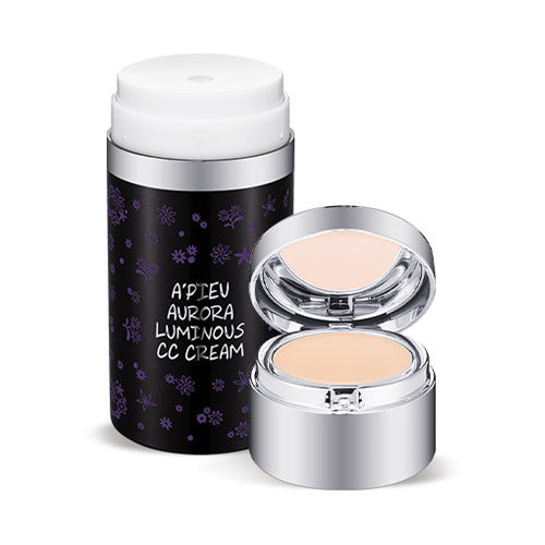 A'PIEU / Aurora Luminous CC Cream & Concealer - 1pcs (30ml + 2.9g)