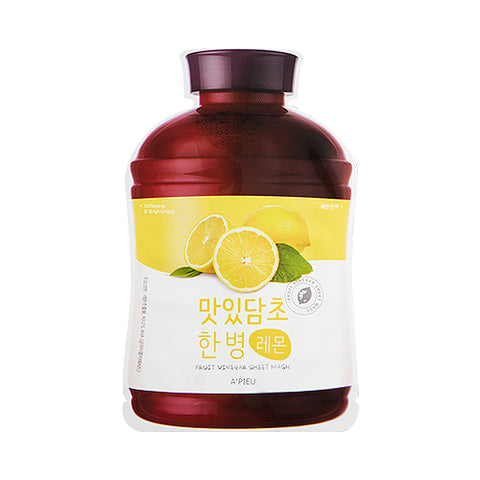 A'PIEU / Fruit Vinegar Sheet Mask - 1pcs