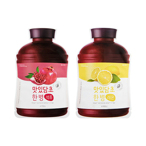 A'PIEU  Fruit Vinegar Sheet Mask - 1pcs