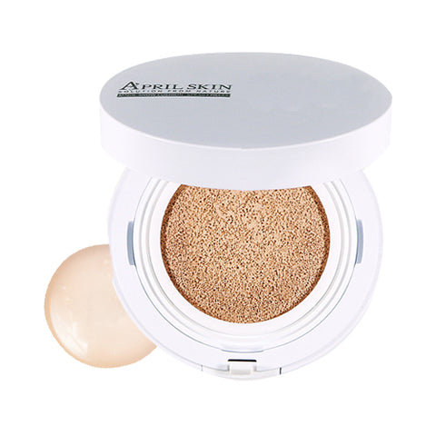 APRIL SKIN / Magic Snow Cushion White - 15g (SPF 50+ PA+++)