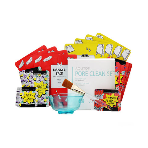 AQUTOP  Pore Clean Set - 1pack (5items)