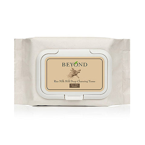 BEYOND  Rice Milk Mild Deep Cleansing Tissue - 50sheets