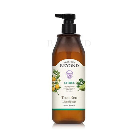 BEYOND  True Eco Liquid Soap (Citrus) - 500ml