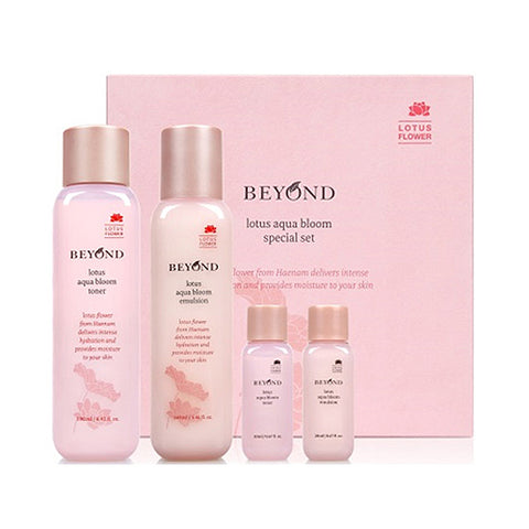 BEYOND  Lotus Aqua Bloom Special Set - 1pack (4item)