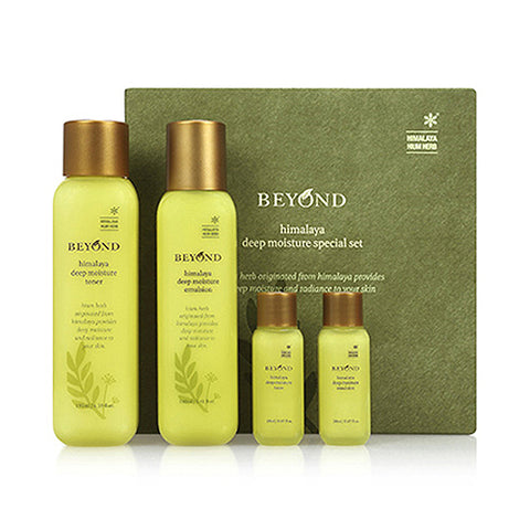 BEYOND  Himalaya Deep Moisture Special Set - 1pack (4item)