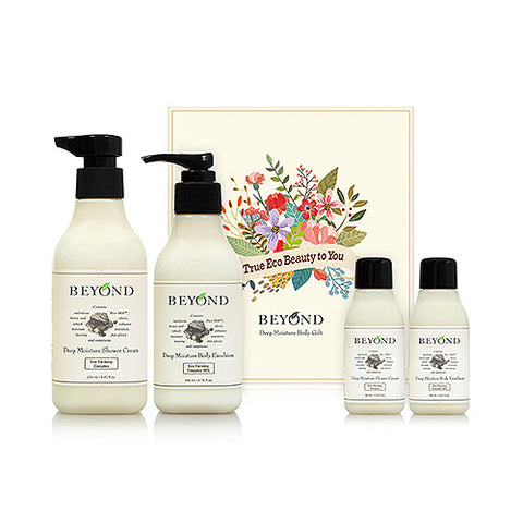 BEYOND  Deep Moisture Body Gift - 1pack (4item)