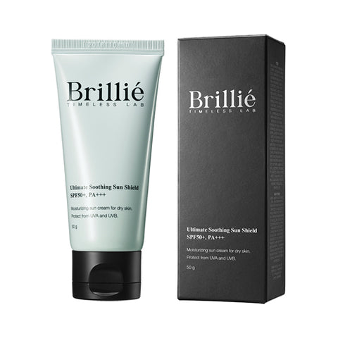 BRILLIANT  Brillie Ultimate Sun Sheild - 50g (SPF50+ PA+++) No.Soothing