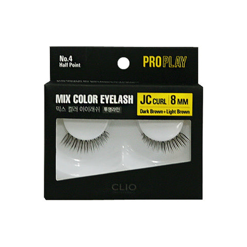 CLIO / Pro Play Mix Color Eyelash - 1pcs (01~06)