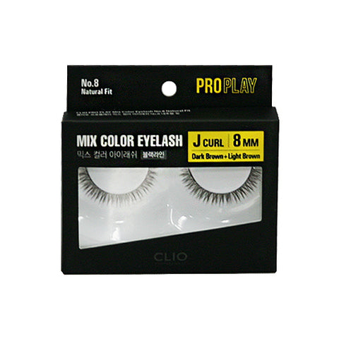 CLIO / Pro Play Mix Color Eyelash - 1pcs (07~10)