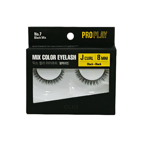 CLIO  Pro Play Mix Color Eyelash - 1pcs (07~10)