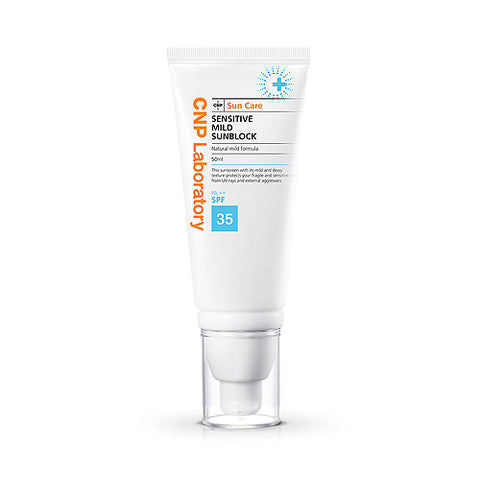 CNP LABORATORY  Sensitive Mild Sunblock - 50ml (SPF35 PA++)