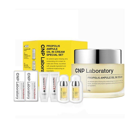 CNP LABORATORY  Propolis Ampule Oil In Cream Special Set - 1pack (4items)