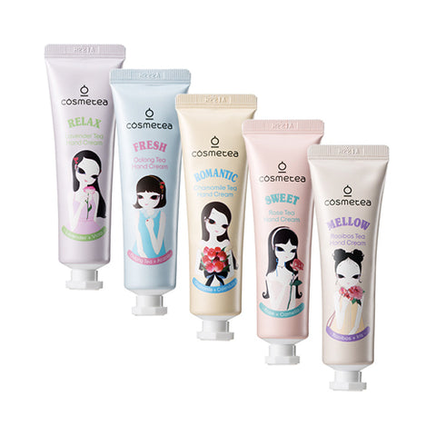 COSMETEA  Tea Café Hand Cream Gift Set - 1pack (5pcs)