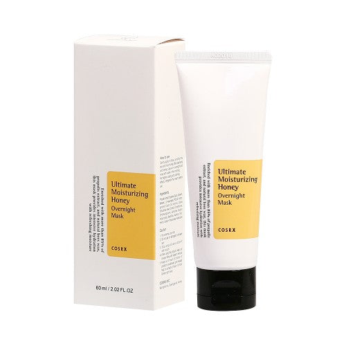 COSRX  Ultimate Moisturizing Honey Overnight Mask - 60ml (New)